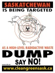 Poster:  SK targeted for nuke dump -- say NO
